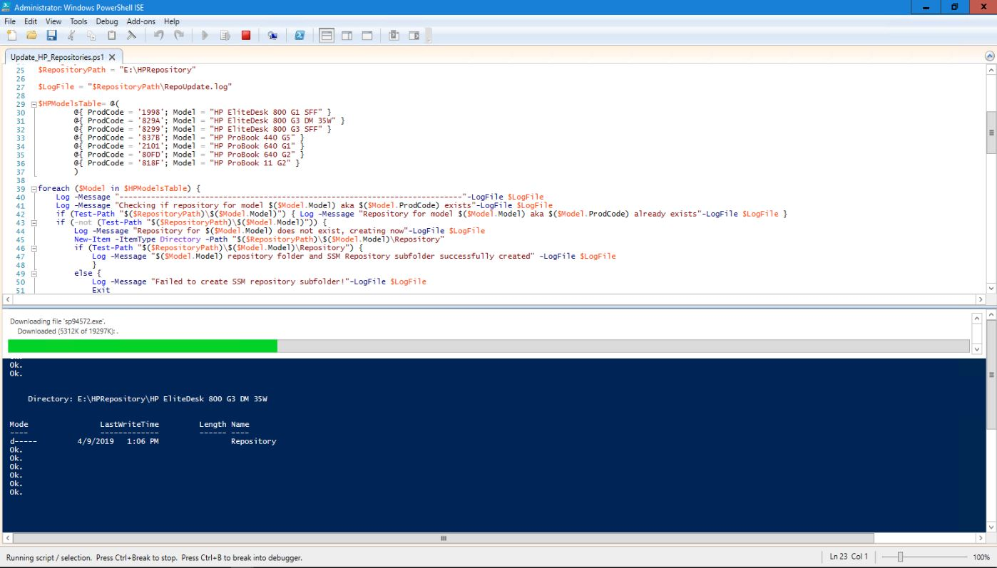Automating HP SoftPaq Repository Updates Using PowerShell