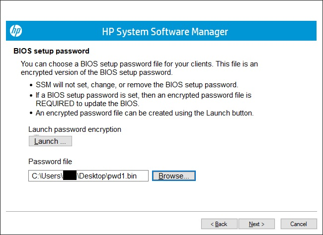 Apply Firmware and Driver Updates Using HP System Software Manager